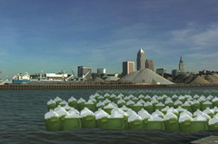 River Waste in Cleveland